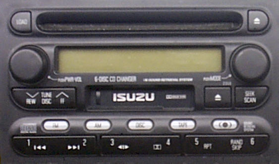 ISUZU AM FM RADIOS